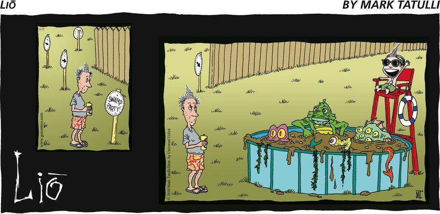 Lio Comic Strip for June 27, 2010