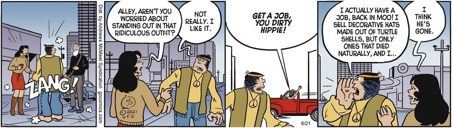 Alley Oop Comic Strip for June 21, 2021