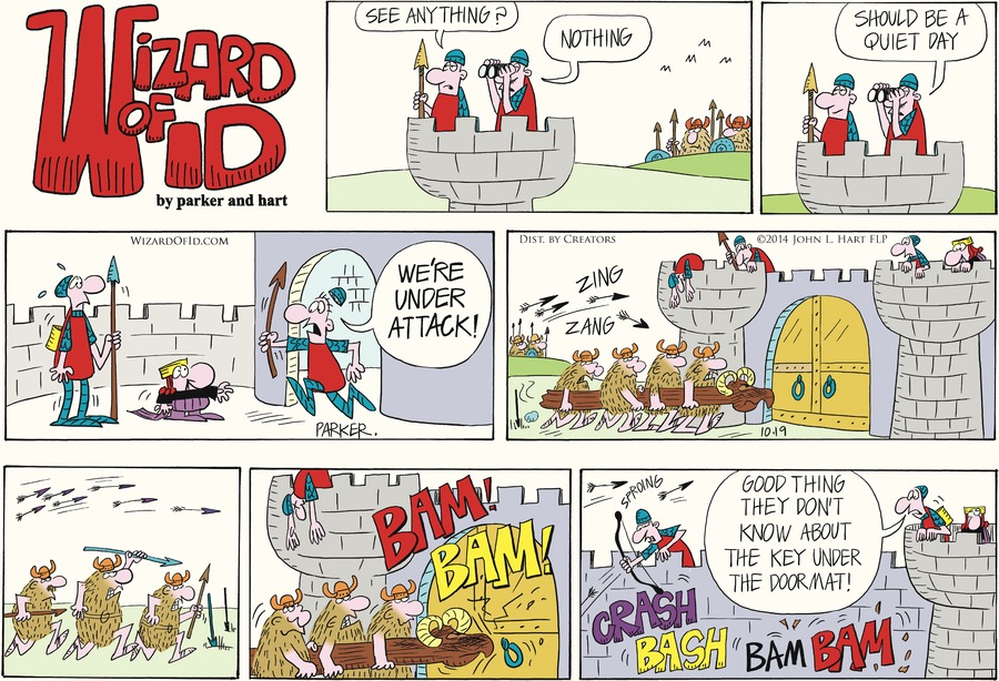 Wizard of Id Comic Strip for October 19, 2014