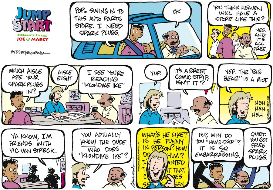 JumpStart for May 11, 2003 Comic Strip