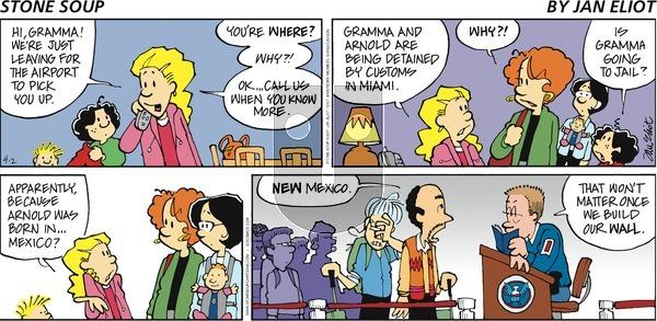 Stone Soup on Sunday April 2, 2017 Comic Strip