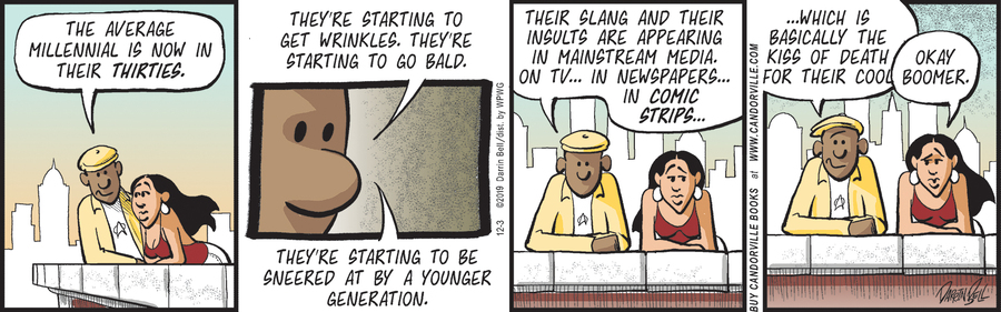 Candorville Comic Strip for December 03, 2019