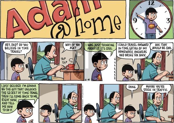 Adam@Home on Sunday June 4, 2017 Comic Strip