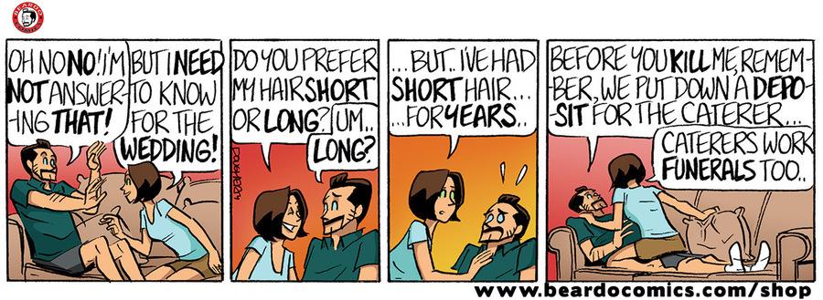 Beardo Comic Strip for December 02, 2019