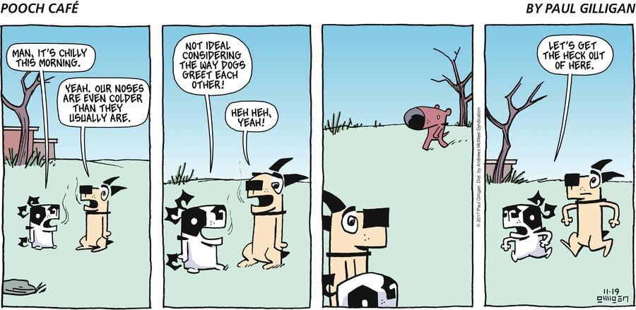 Pooch Cafe for Nov 19, 2017 Comic Strip