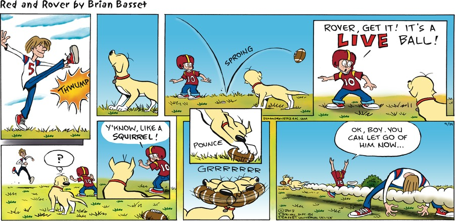 Red and Rover for Sep 29, 2013 Comic Strip