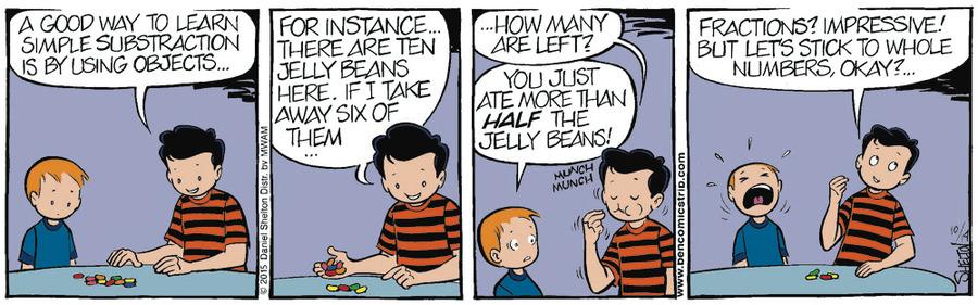 Ben Comic Strip for October 21, 2015