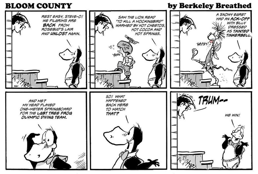 Bloom County 2018 by Berkeley Breathed for April 05, 2019
