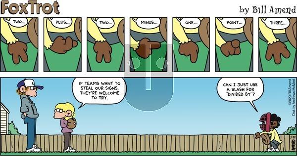 FoxTrot on Sunday March 22, 2020 Comic Strip