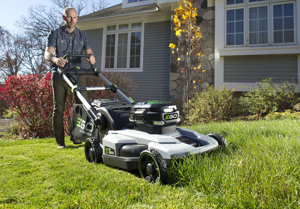 Ego electric was the top-rated battery-powered walk-behind mower in Consumer Reports testing last year. The company makes five self-propelled and push-mower models. The same battery that operates the mower can be used to power the company's leaf blowers, string trimmers and other equipment.