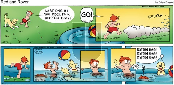 Red and Rover on Sunday July 28, 2019 Comic Strip
