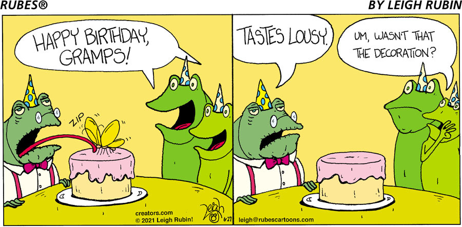 Rubes Comic Strip for June 27, 2021