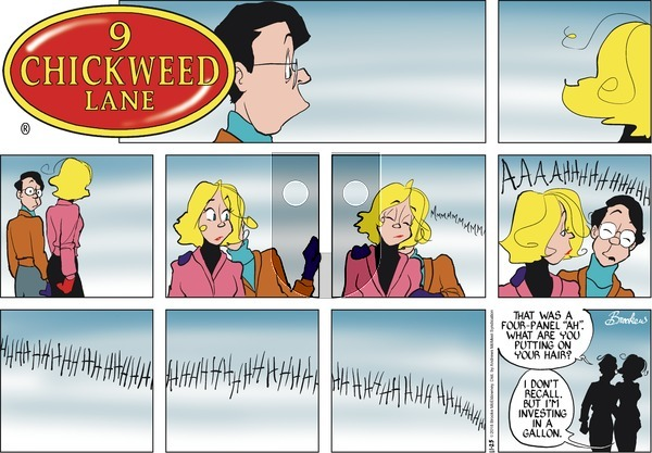 9 Chickweed Lane on Sunday November 25, 2018 Comic Strip