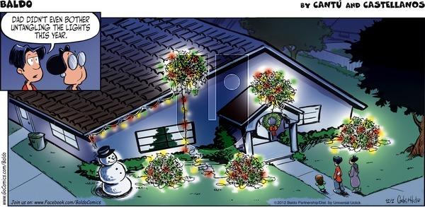 Baldo - Sunday December 2, 2012 Comic Strip