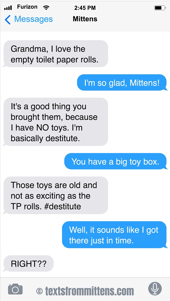 Texts From Mittens by Angie Bailey on Sun, 14 Jun 2020