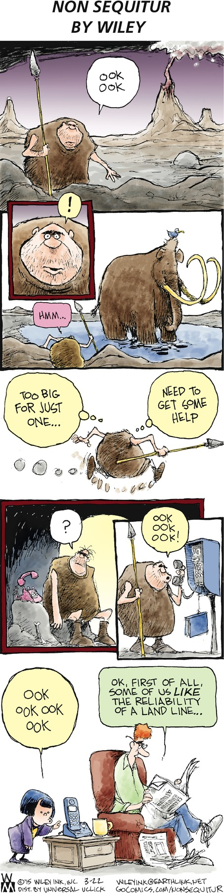 Non Sequitur Comic Strip for March 22, 2015