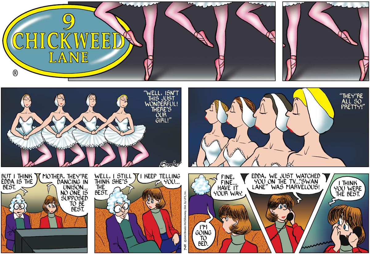 9 Chickweed Lane for Jul 31, 2005 Comic Strip