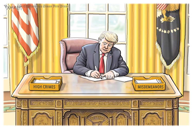 Clay Bennett Comic Strip for January 24, 2020