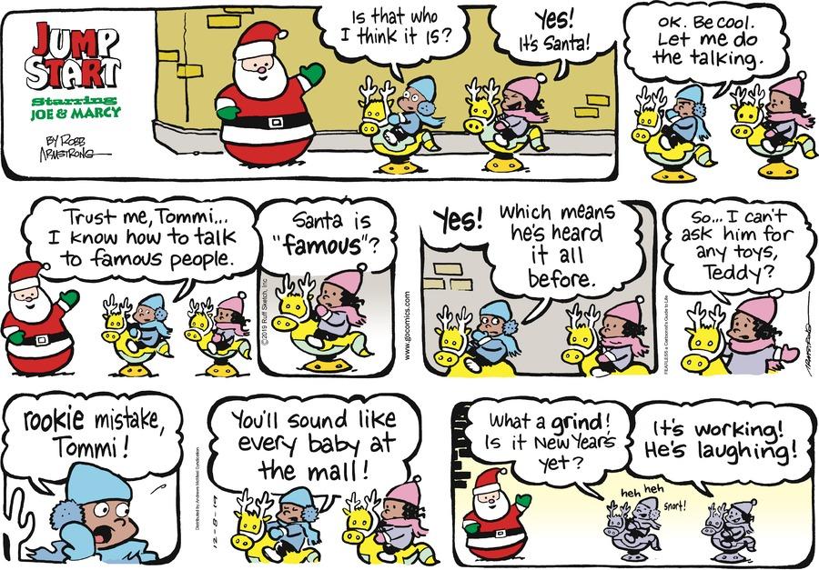 JumpStart Comic Strip for December 08, 2019