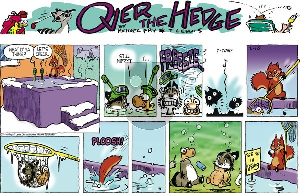 Over the Hedge on Sunday February 10, 2019 Comic Strip