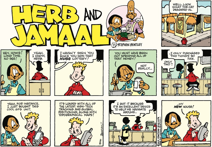 Herb and Jamaal Comic Strip for August 06, 2017