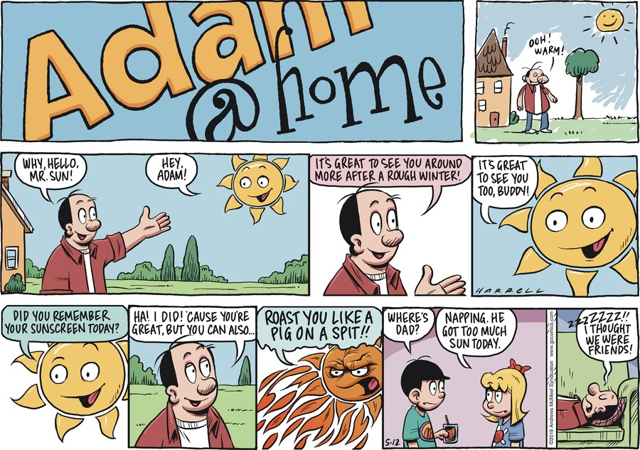 Adam@Home by Rob Harrell for May 12, 2019