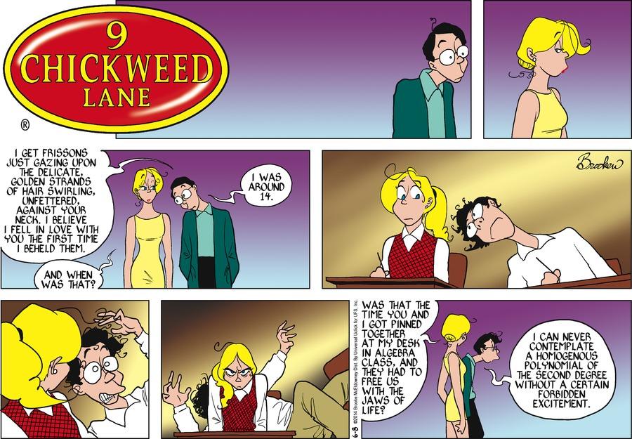 9 Chickweed Lane Comic Strip for June 08, 2014