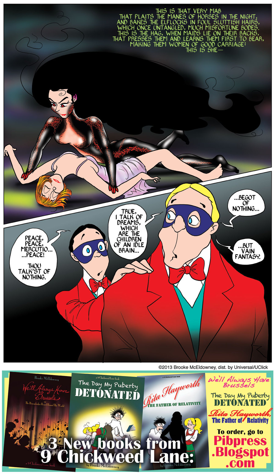 Pibgorn for Sep 10, 2013 Comic Strip