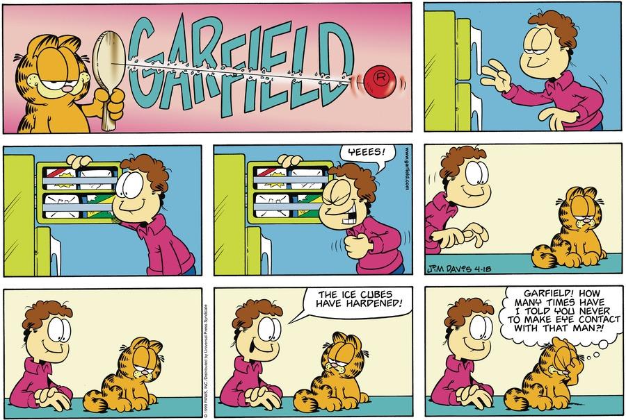 Garfield Comic Strip for April 18, 1999