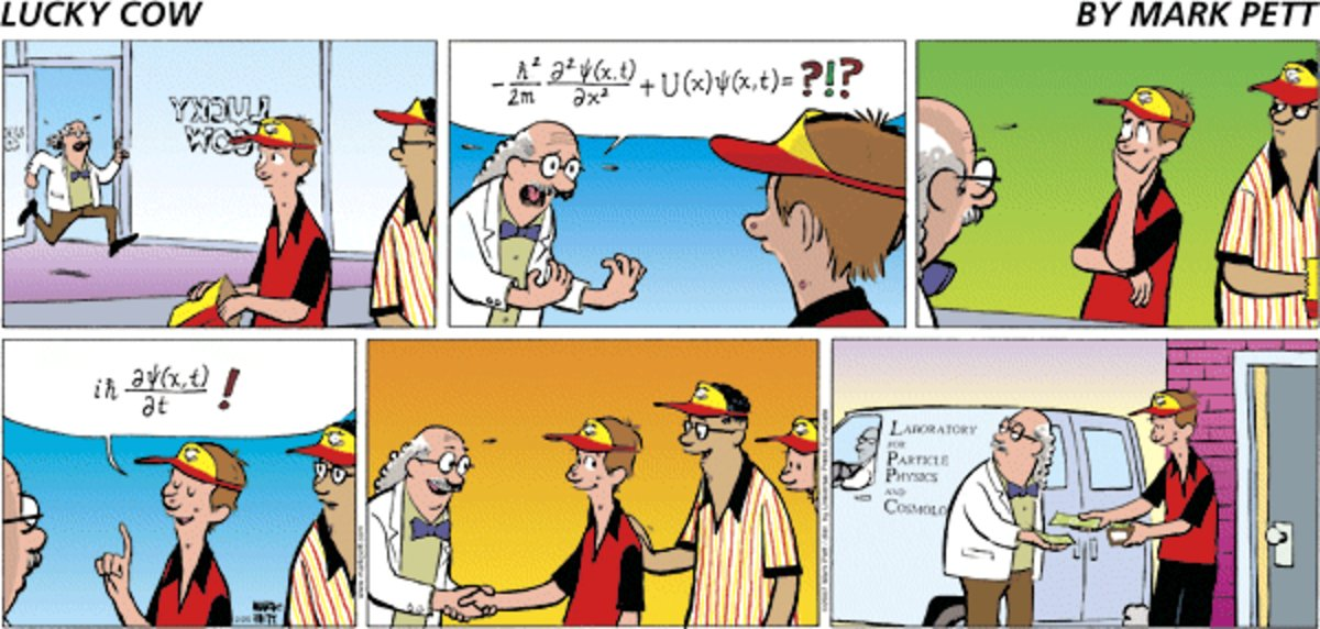 Lucky Cow Comic Strip for February 23, 2014