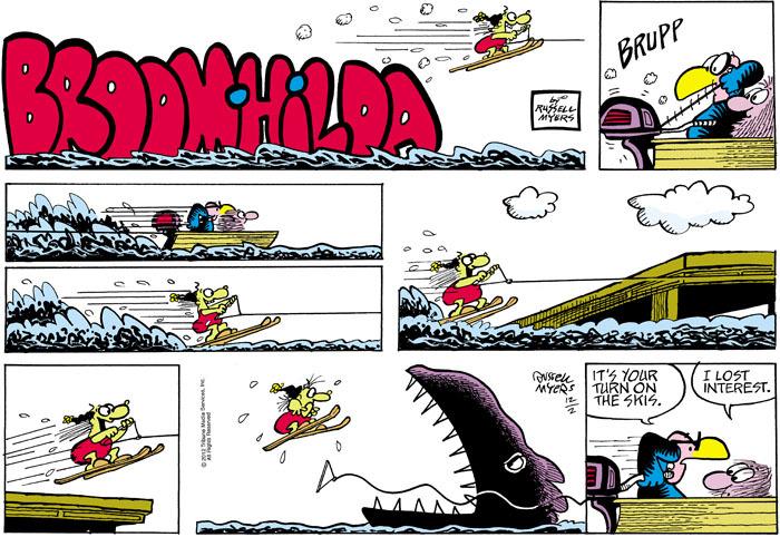 Broom Hilda for Dec 2, 2012 Comic Strip