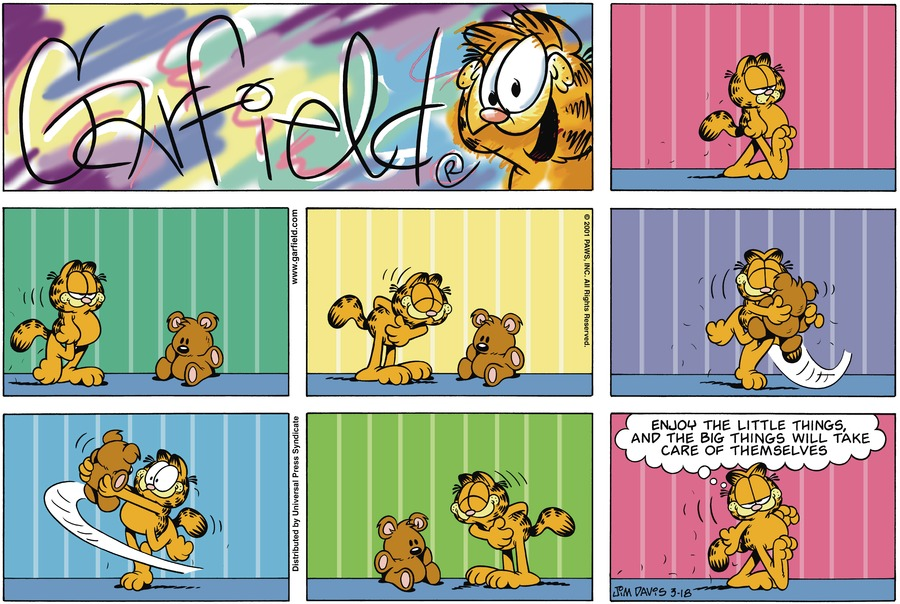 Garfield Comic Strip for March 18, 2001