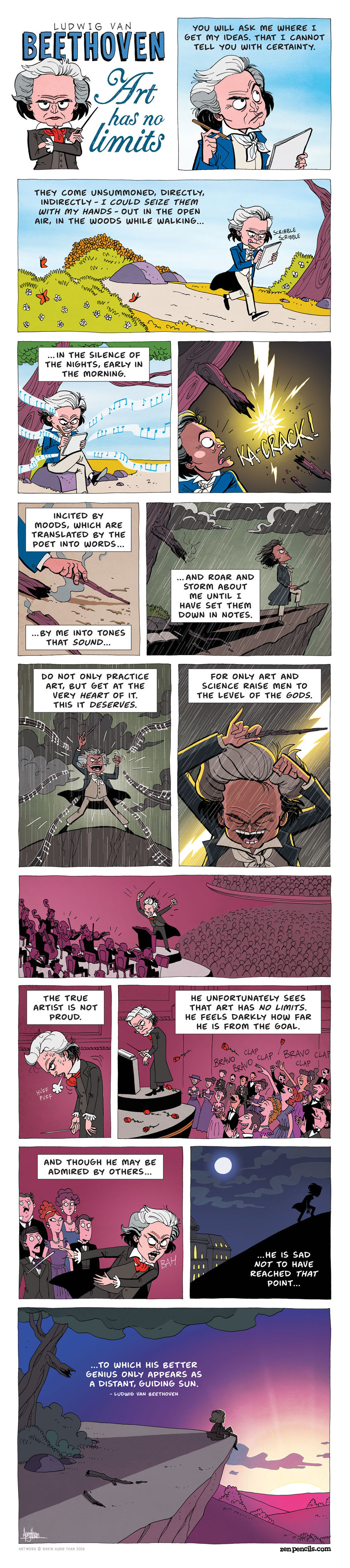 Zen Pencils Comic Strip for March 04, 2019