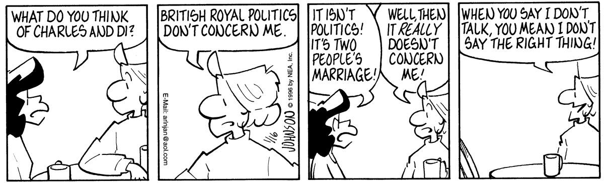 Arlo and Janis for Jan 16, 1996 Comic Strip