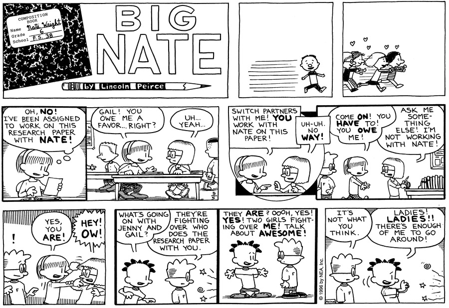Big Nate: First Class Comic Strip for May 16, 2021