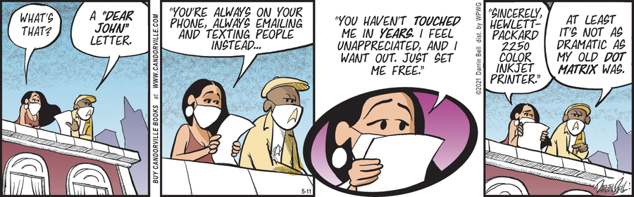 Candorville Comic Strip for May 11, 2021