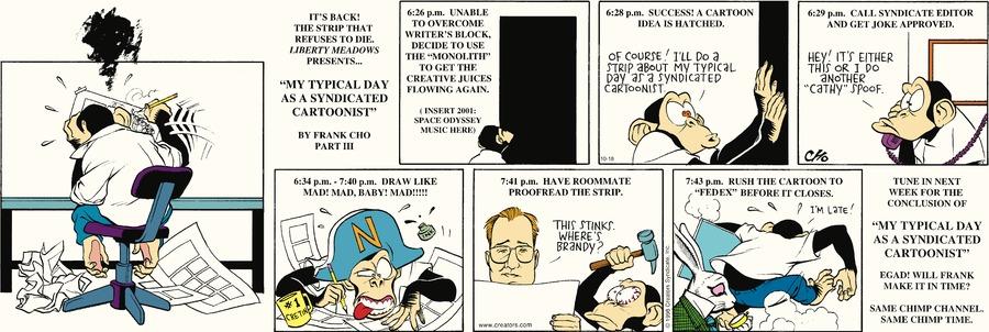 Liberty Meadows Comic Strip for October 18, 2020