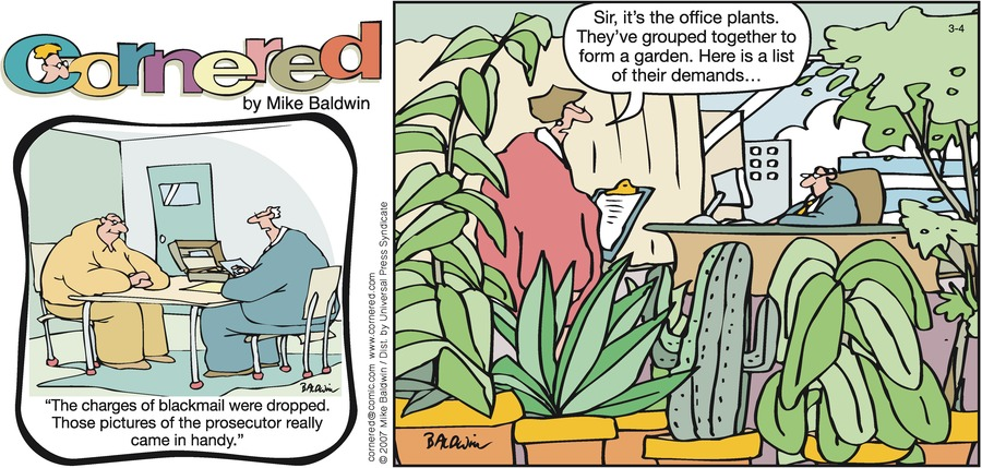 Cornered Comic Strip for March 04, 2007