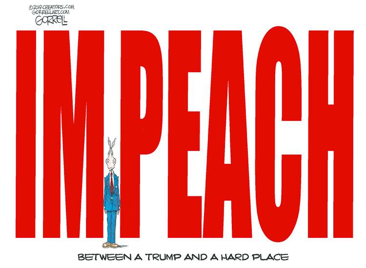 Bob Gorrell Comic Strip for January 07, 2019