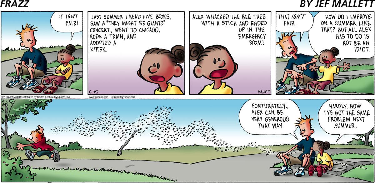 Frazz Comic Strip for June 15, 2008