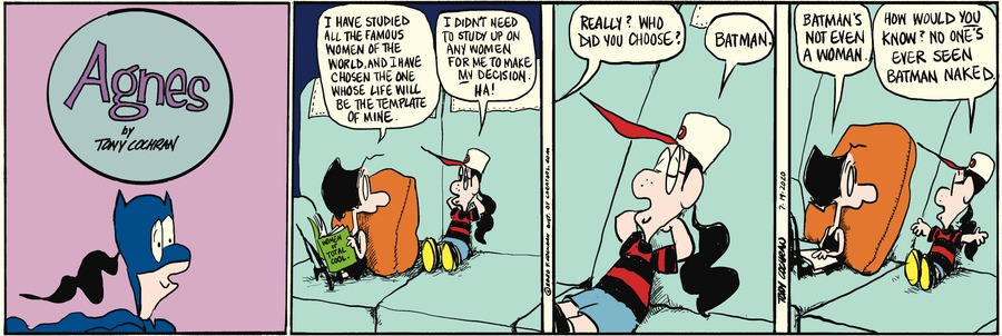 Agnes Comic Strip for July 19, 2020