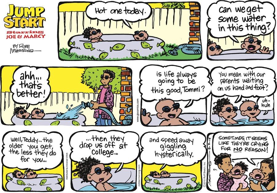 JumpStart Comic Strip for August 09, 2015