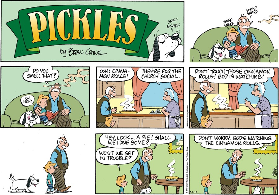 Pickles Comic Strip for May 08, 2016