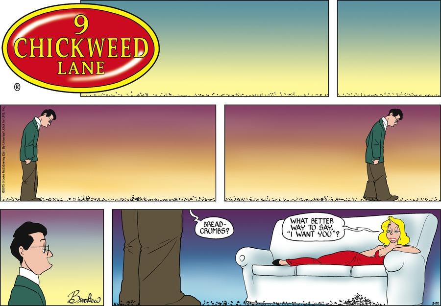 9 Chickweed Lane Comic Strip for February 22, 2015