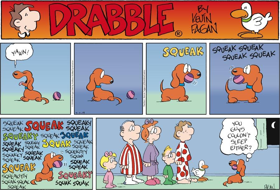 Drabble Comic Strip for July 07, 2019
