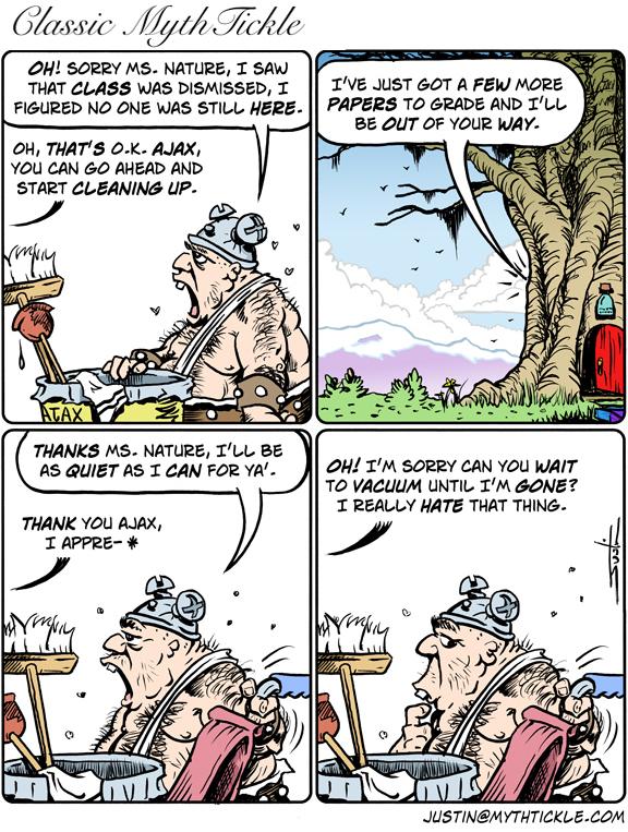 MythTickle for Aug 14, 2013 Comic Strip