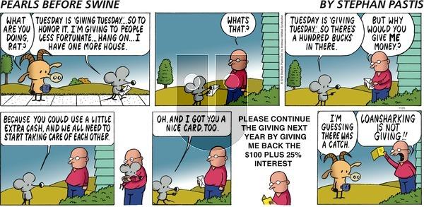Pearls Before Swine - Sunday November 25, 2018 Comic Strip