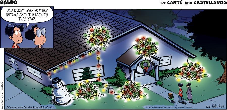 Baldo Comic Strip for December 02, 2012