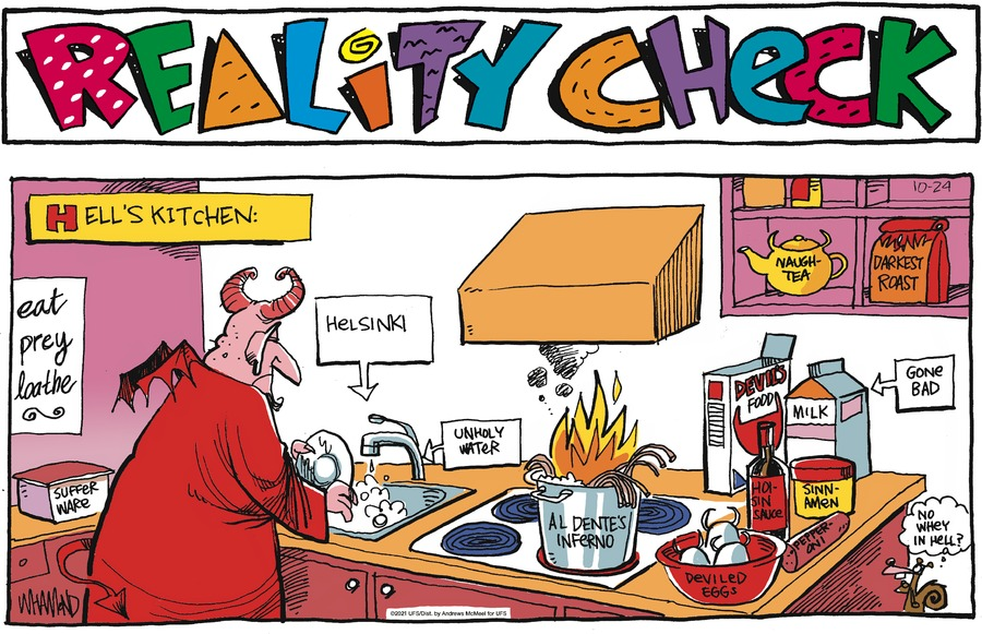 Reality Check by Dave Whamond on Sun, 24 Oct 2021