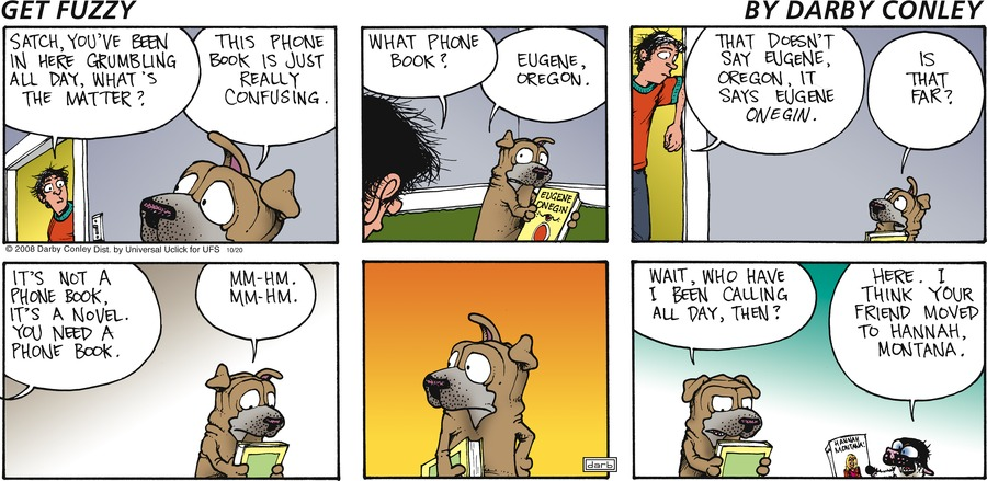 Get Fuzzy Comic Strip for October 20, 2013